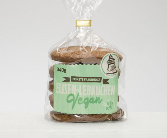 Elisen gingerbread vegan unglazed