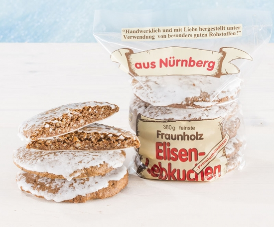 Elisen gingerbread sugar glazed