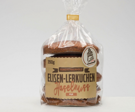 Hazelnut Elisen gingerbread
