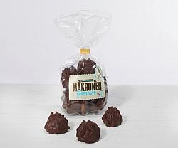 Coconut macaroons chocolate
