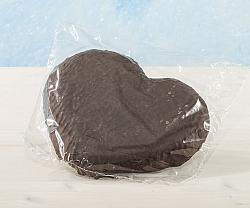 Riesen Elisen-Lebkuchen Schoko in Herzform