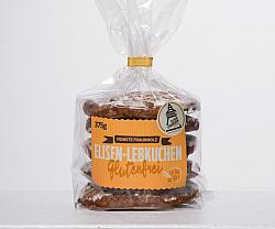 Mandel Elisen-Lebkuchen Zucker auf glutenfreier Oblate