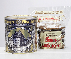 Nostalgic gingerbread tin