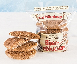 Elisen gingerbread unglazed