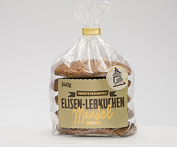 Almond Elisen gingerbread